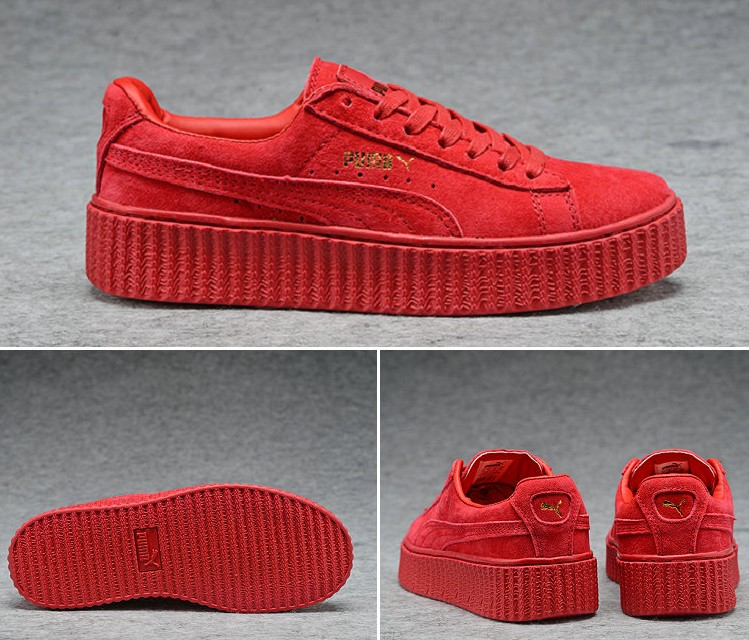 X chaussures Sign New Chaussures Puma Rihanna Red 2016 All ZXiTwkOPu