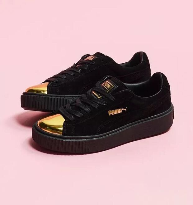 Head Rihanna Gold Sign X Puma New chaussures Chaussures 2016 qSYZ0InI