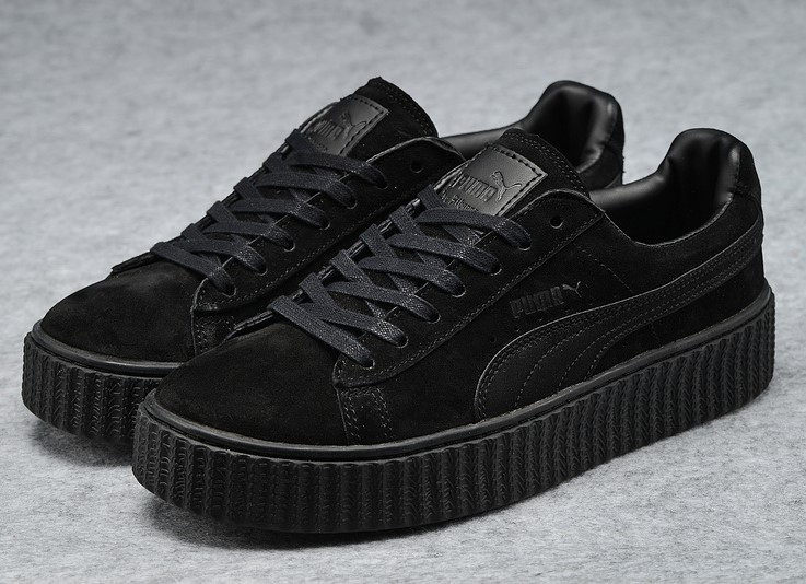 2016 puma shoes sign x rihanna new star black