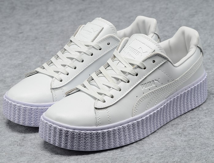Puma Tvu4wqvhp 2016 White Sign Rihanna New Star X Chaussures MVpUzS