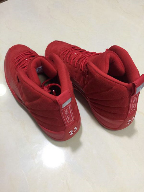 air jordan 12 retro aj 12 taxi red exclusive color