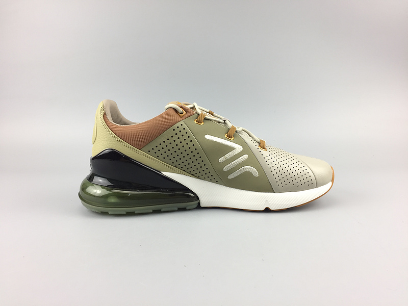 air max 270 smooth leather sport ao8283-200 brown leather