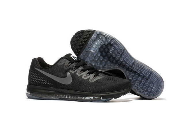 air zoom nike all out flyknit classic low flywire suie carbone