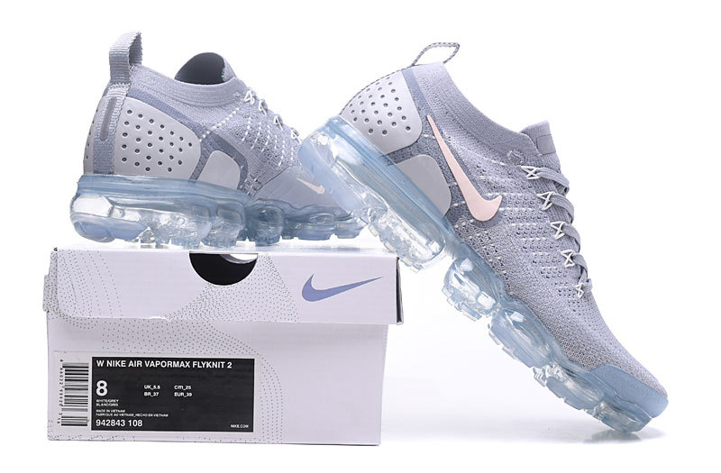 air vapormax soldes nike vapormax femme 942843-1089 gray white