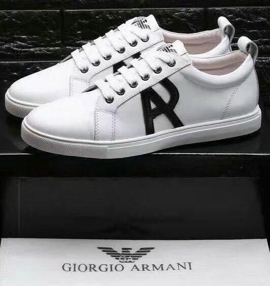13741cdaa317ad armani chaussures destock sport et mode blanc surface aj