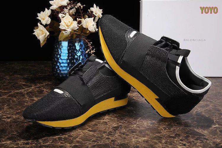 balenciaga unisexe race shoes fond or