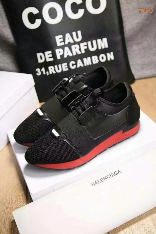balenciaga unisexe race shoes red boots