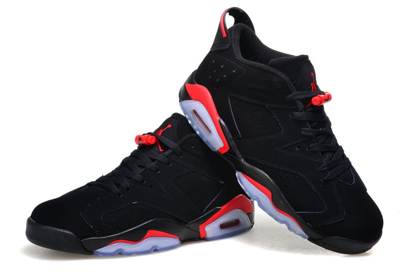 baskets jordan 6 en ligne noir rouge,air jordan promo