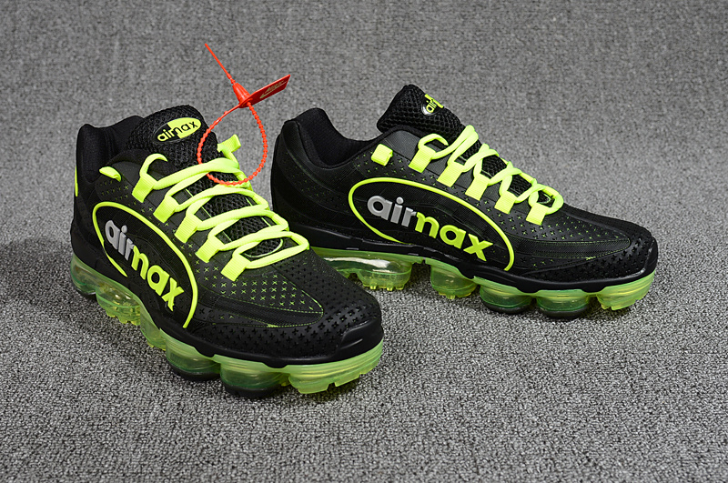 baskets nike air vapormax 95 flywire vert sign