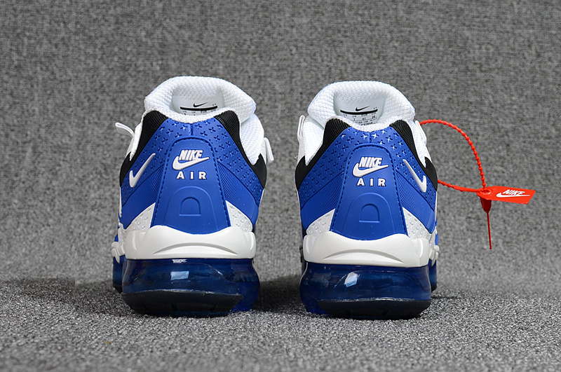 baskets nike air vapormax 95 flywire white blue