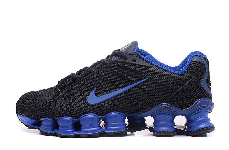 baskets nike shox rivalry et tlx bleu saphir noir