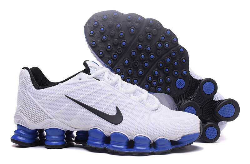 new styles 35ab9 9fe9a ... baskets nike shox rivalry et tlx white blue ...