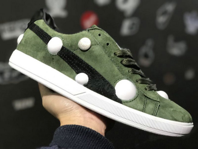 baskets suede classic 2017 green