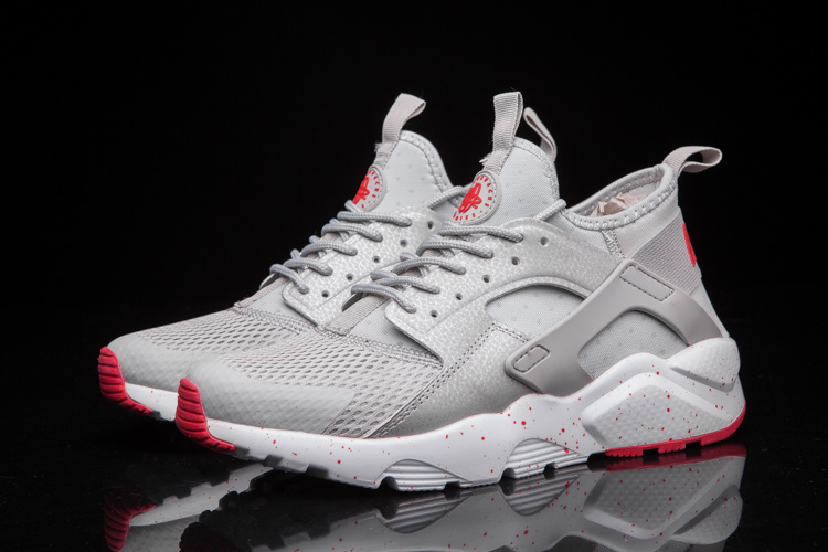 baskets basses nike sports air huarache run ultra crater gray