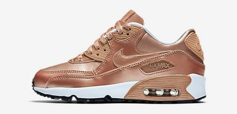 baskets basses nike air max 90 chaussures bronze
