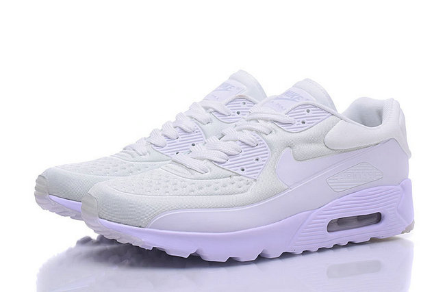 baskets basses nike air max 90 mesh prince blanc