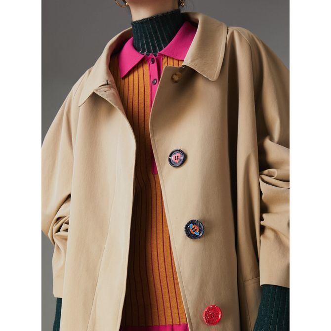 burberry vintage trench 2018 women london botton jacket jacket