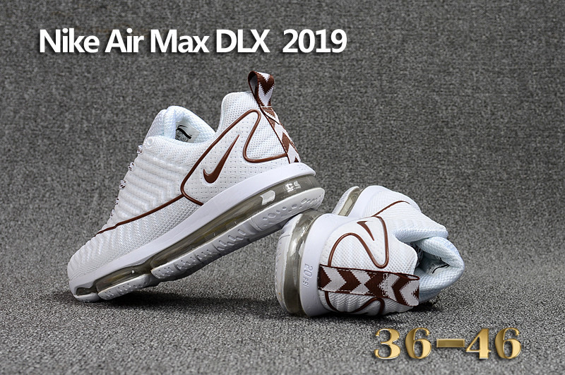 cheap nikelab air max 2019 dlx 20psi coffe white