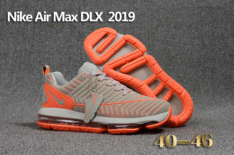 cheap nikelab air max 2019 dlx 20psi gray orange