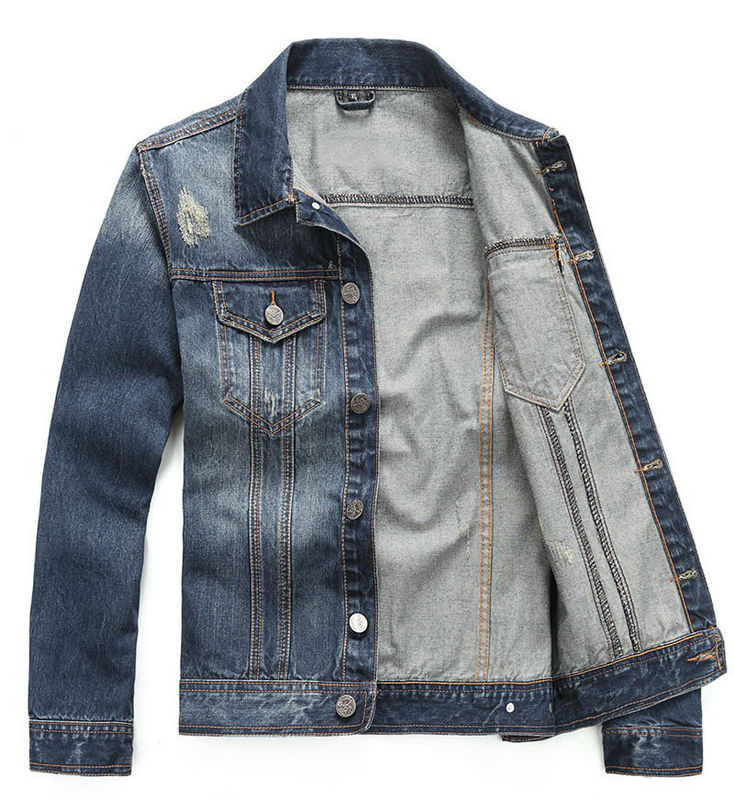 dsquared denim jacket four seasons button two pocket