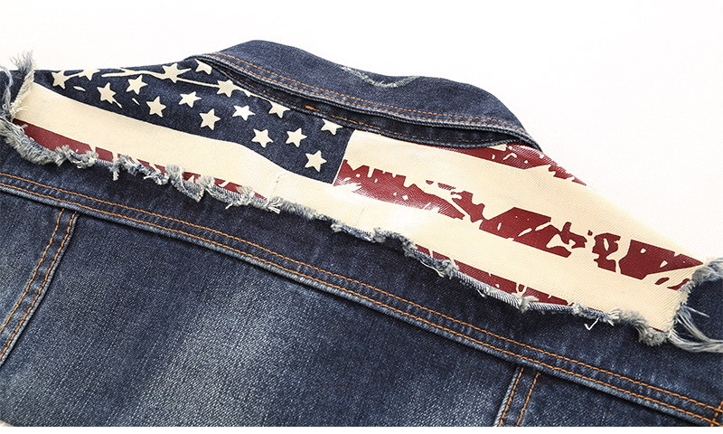 dsquared denim jacket four seasons star flag