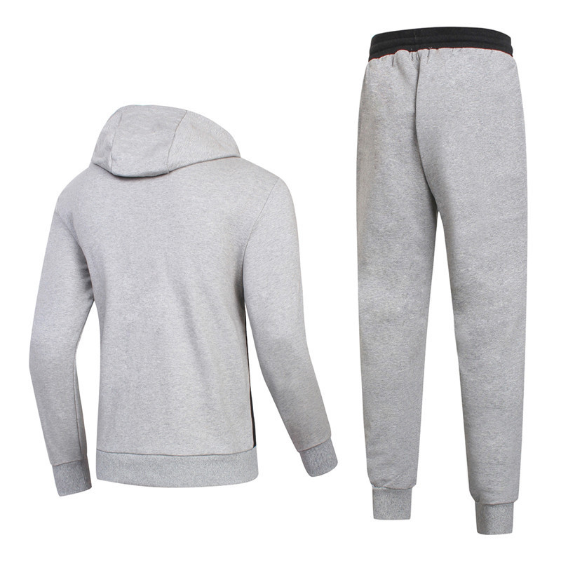 ea7 tracksuit survetement ensemble fashion rocket mode gris