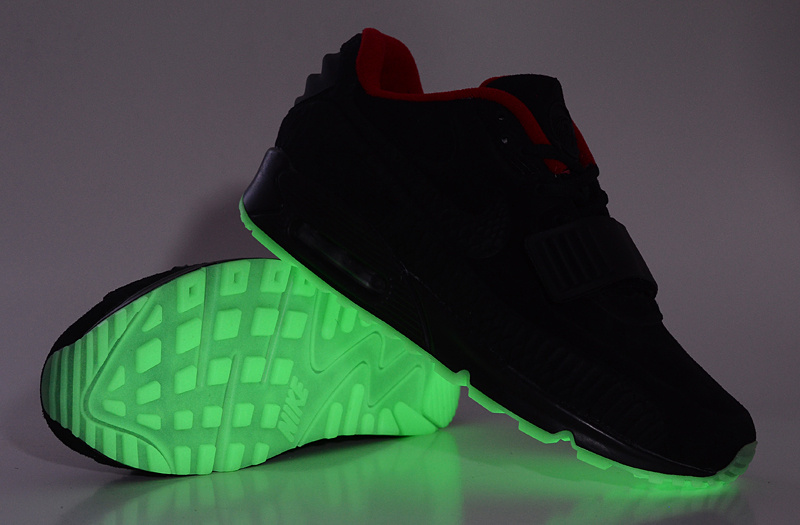 edition luxe nik air yeezy 2-90airmax night light