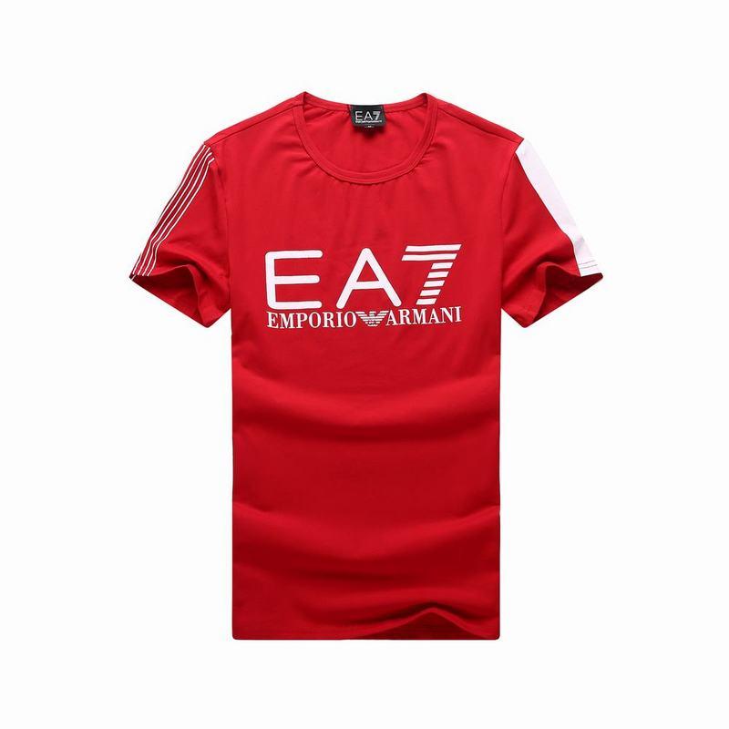 Fitness training emporio ea7 tee shirt hot red tee shirt for La fitness t shirt