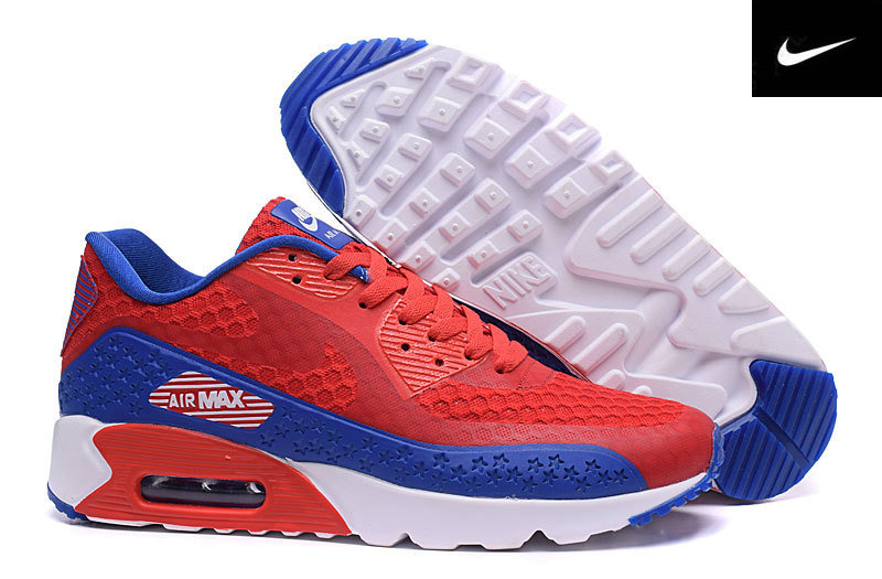 independence day air max 90 baskets basses noir blue line
