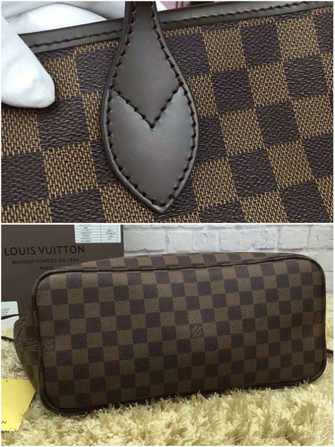 louis vuitton sac a main en cuir verni trevi c40995 grille cafe