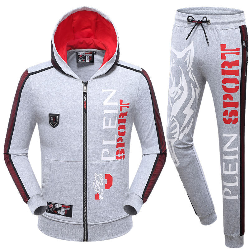 new philipp plein 2017 long tracksuit tigers theme hoodie