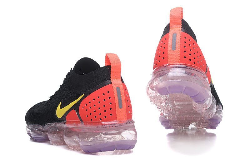 nike air vapormax2 men women basketball shoes noir rouge942842-005