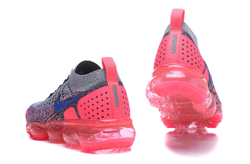 nike air vapormax2 hommes femmes basketball chaussures rose gray942843-104