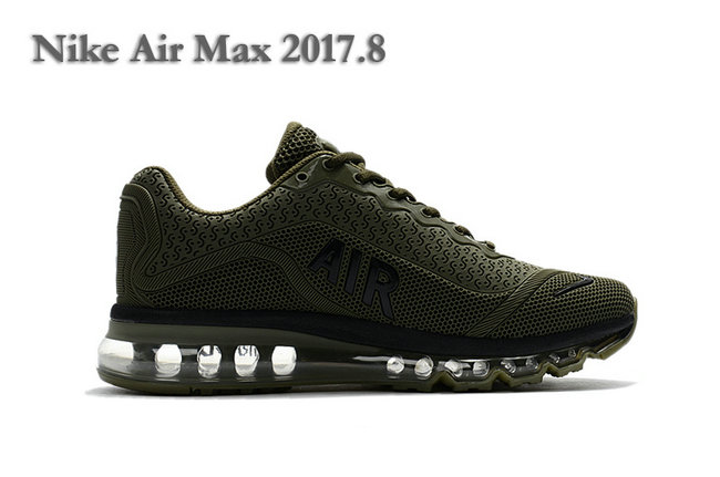 nike air max 2017 og en mesh new army green