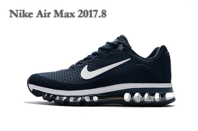nike air max 2017 og en mesh new blue white