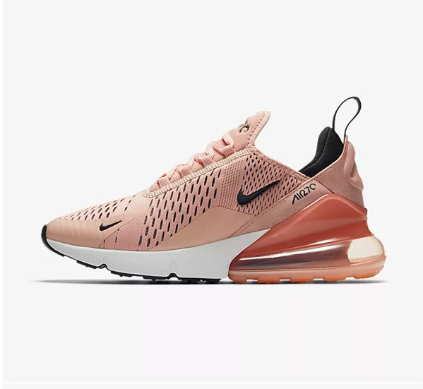 nike air max 270 chaussures de fitness femmes new ah6789-600w
