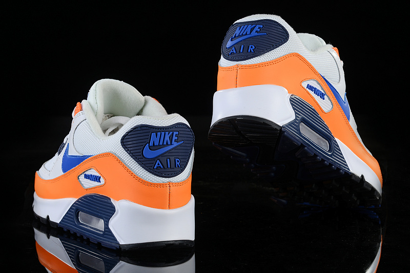 nike air max 90 essential man women orange white