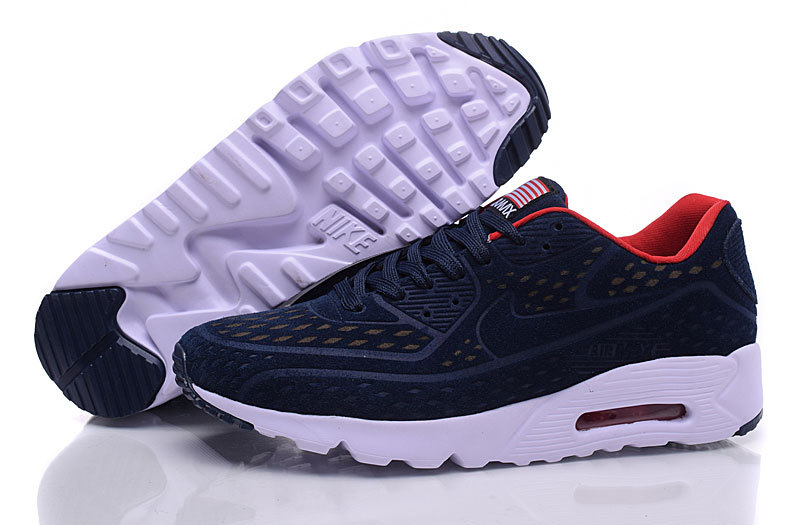 nike air max 90 og independence day cuir blue
