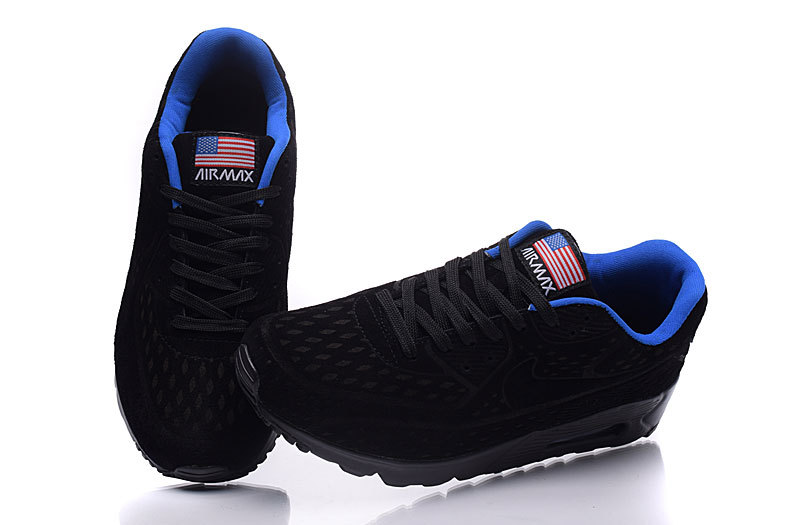 meilleures baskets 5d6ac 3f444 nike air max 90 og independence day noir usa:Nike Air Max 90