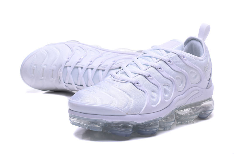 nike basket air max plus snow white