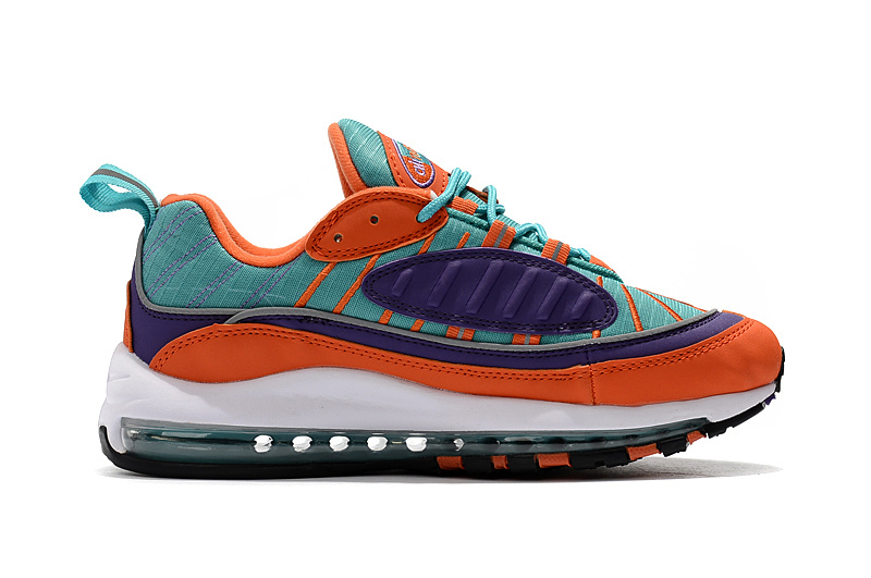 nike drops muted air max 98 orange red green