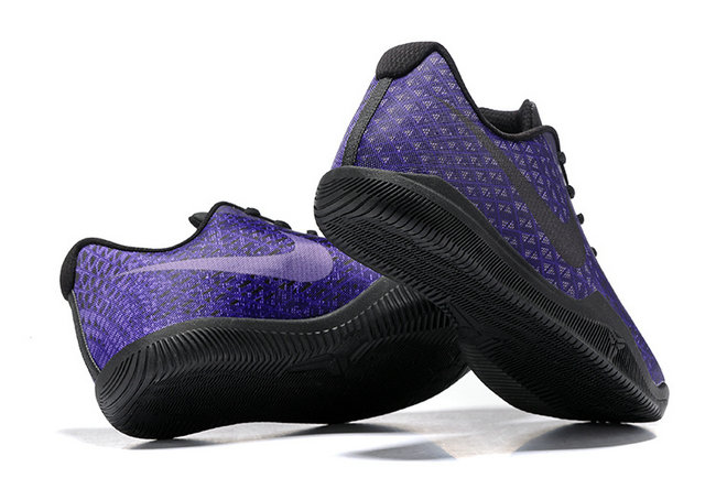 nike kobe xii mens basketball chaussures lakers violet