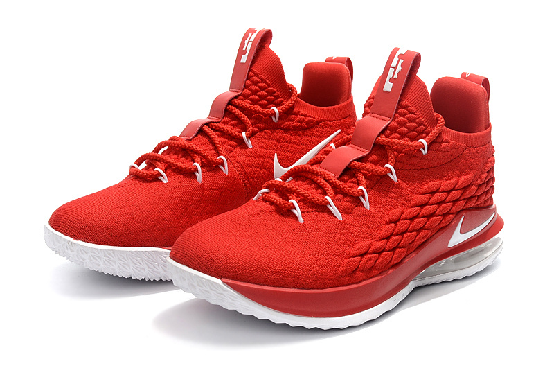 nike lebron 15 james grade school china red