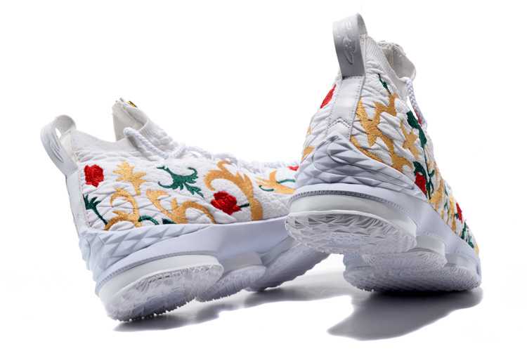 nike lebron 15 james grade school flower