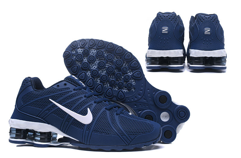 nike shox oz d run trainers deep sea blue
