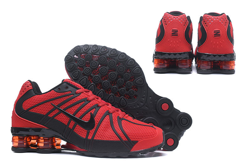 nike shox oz d run trainers fire red