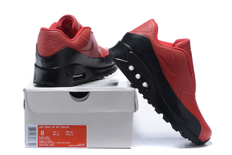 nike air max leather 90 sacai new style new year red