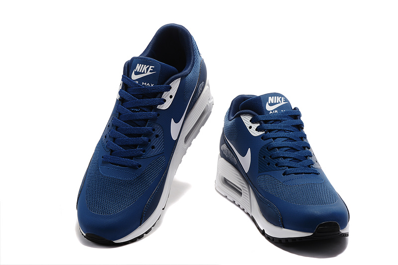 nike hommes air max 90 ultra lux casual chaussures essential blue