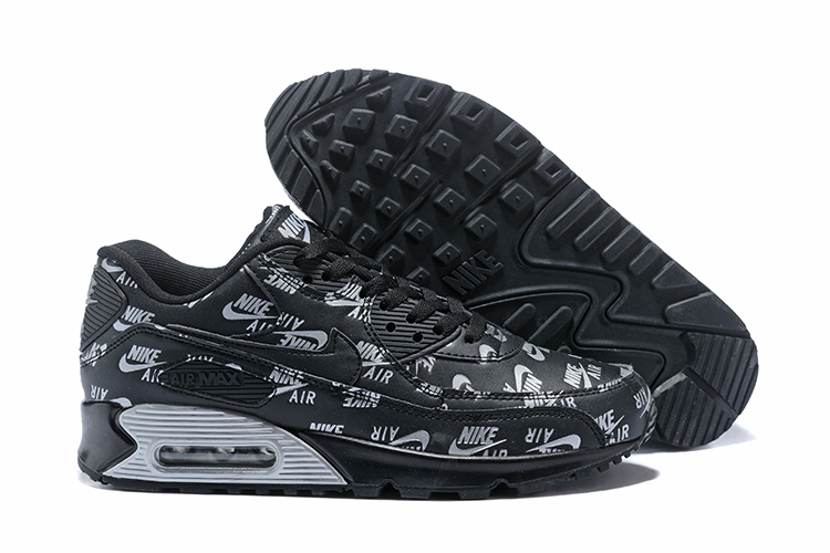 nike hommes air max 90 ultra lux casual chaussures sign black