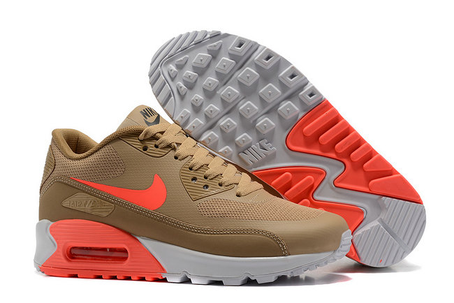 nike chaussures air max 90 ultra essential og infrared brown
